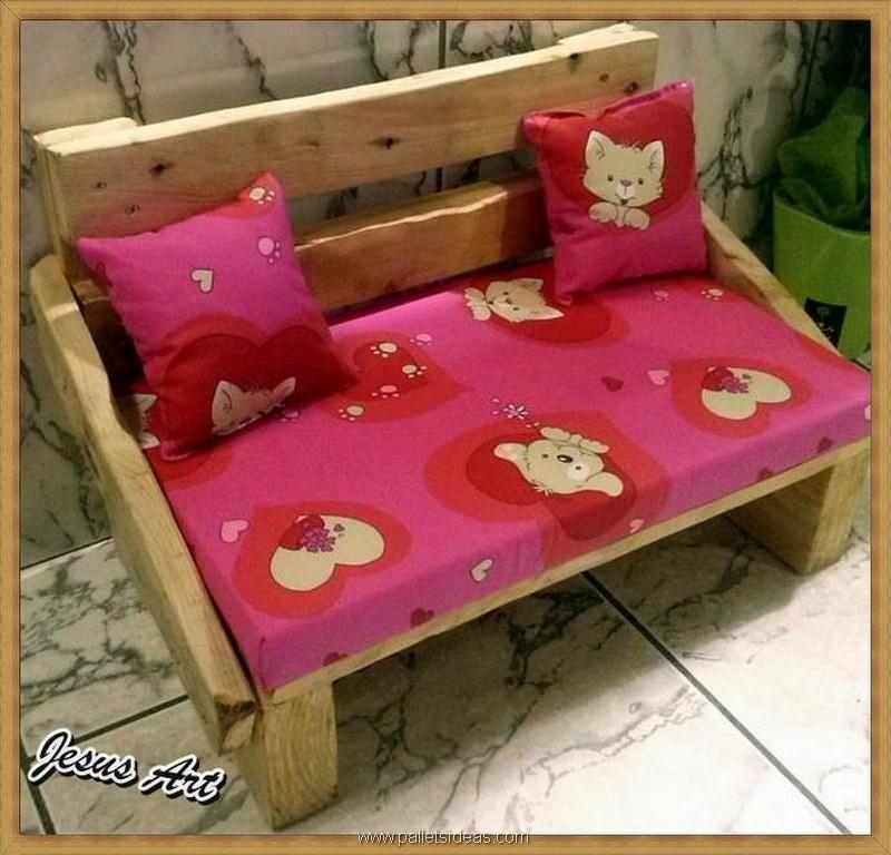 pallet dog bed plan