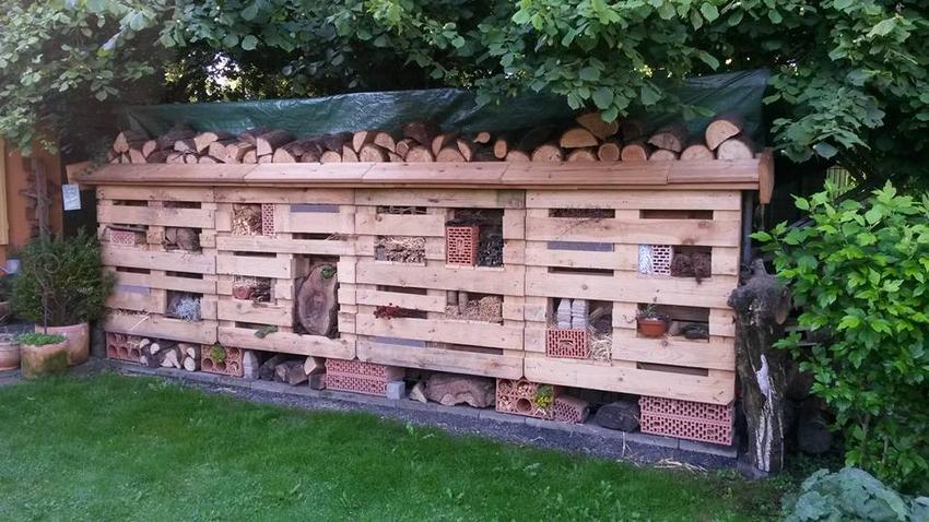 pallet idea for garden