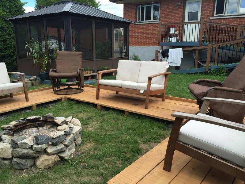 Pallet Patio Garden Lounge Floor