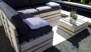 Wood Pallet Outdoor Garden Furniture
