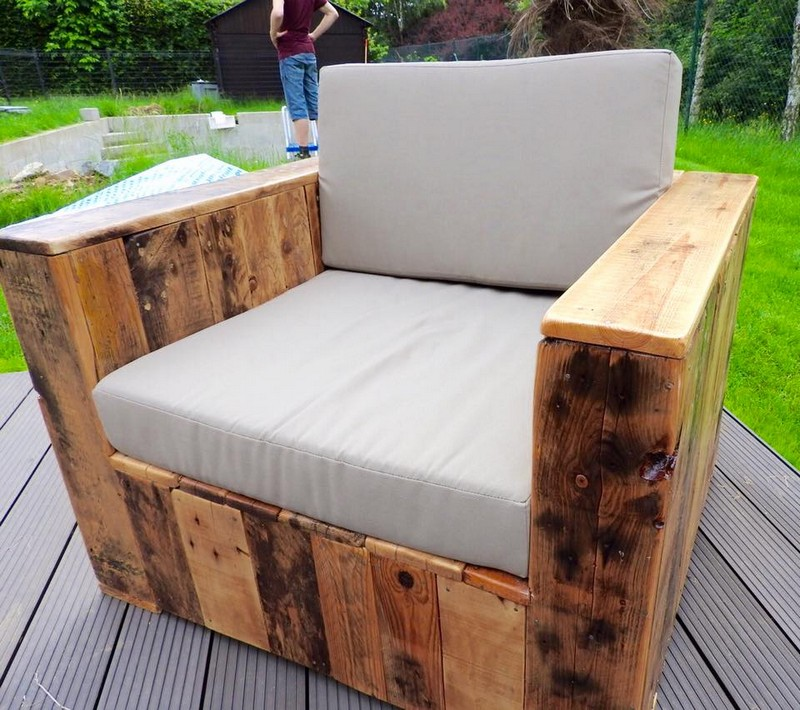 Pallet Patio Furniture beautiful pallet wood patio furniture | pallet ideas: recycled