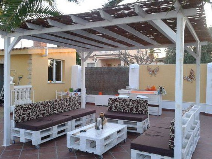 pallet patio pergola furniture