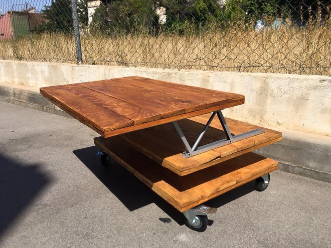 pallet recycled table