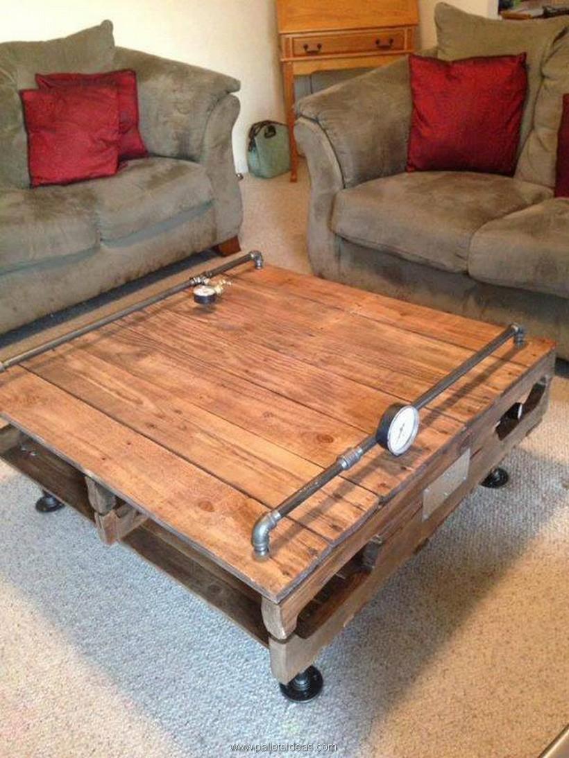 Furniture Ideas with Shipping Pallets | Pallet Ideas