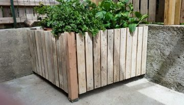 Recycled Wood Pallet Planter Ideas