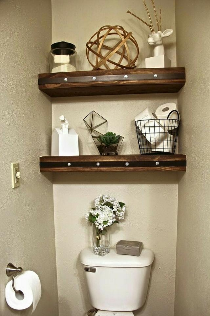 wood pallet shelving