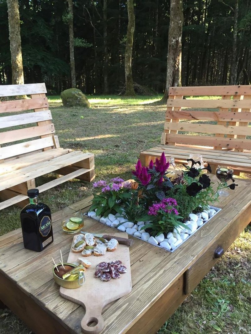Outdoor Wooden Pallet Furniture | Pallet Ideas