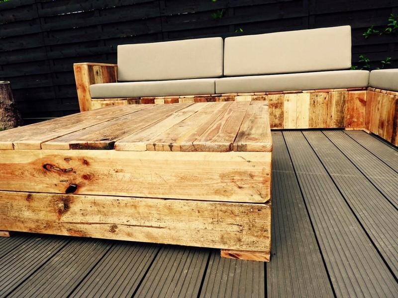 wooden pallet made furniture