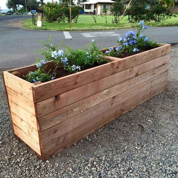 33 Best Images About Wood Planter Tree Box On Pinterest: Glorious Pallet Wood Upcycling Ideas