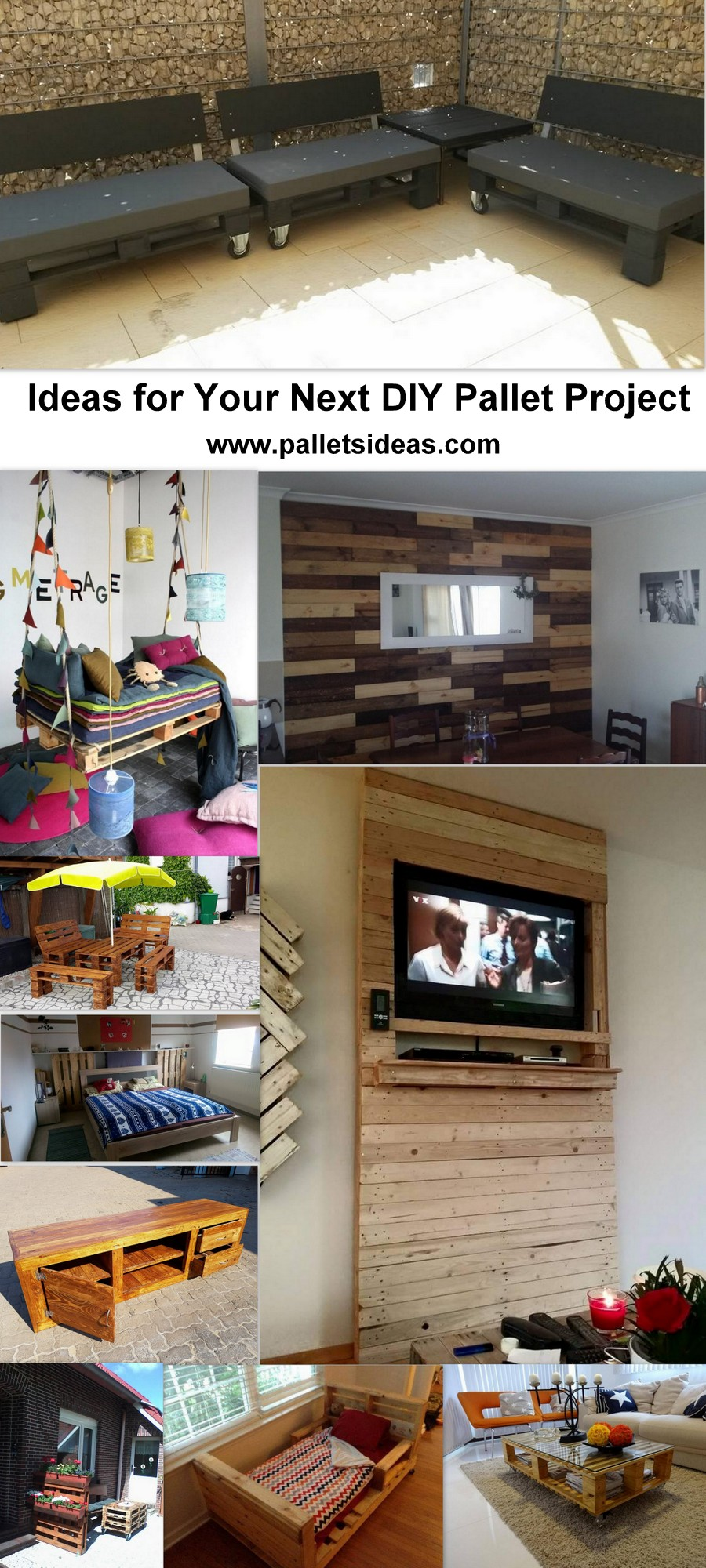 Ideas for Your Next DIY Pallet Project