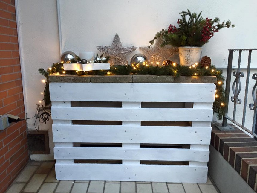 decor art with pallets