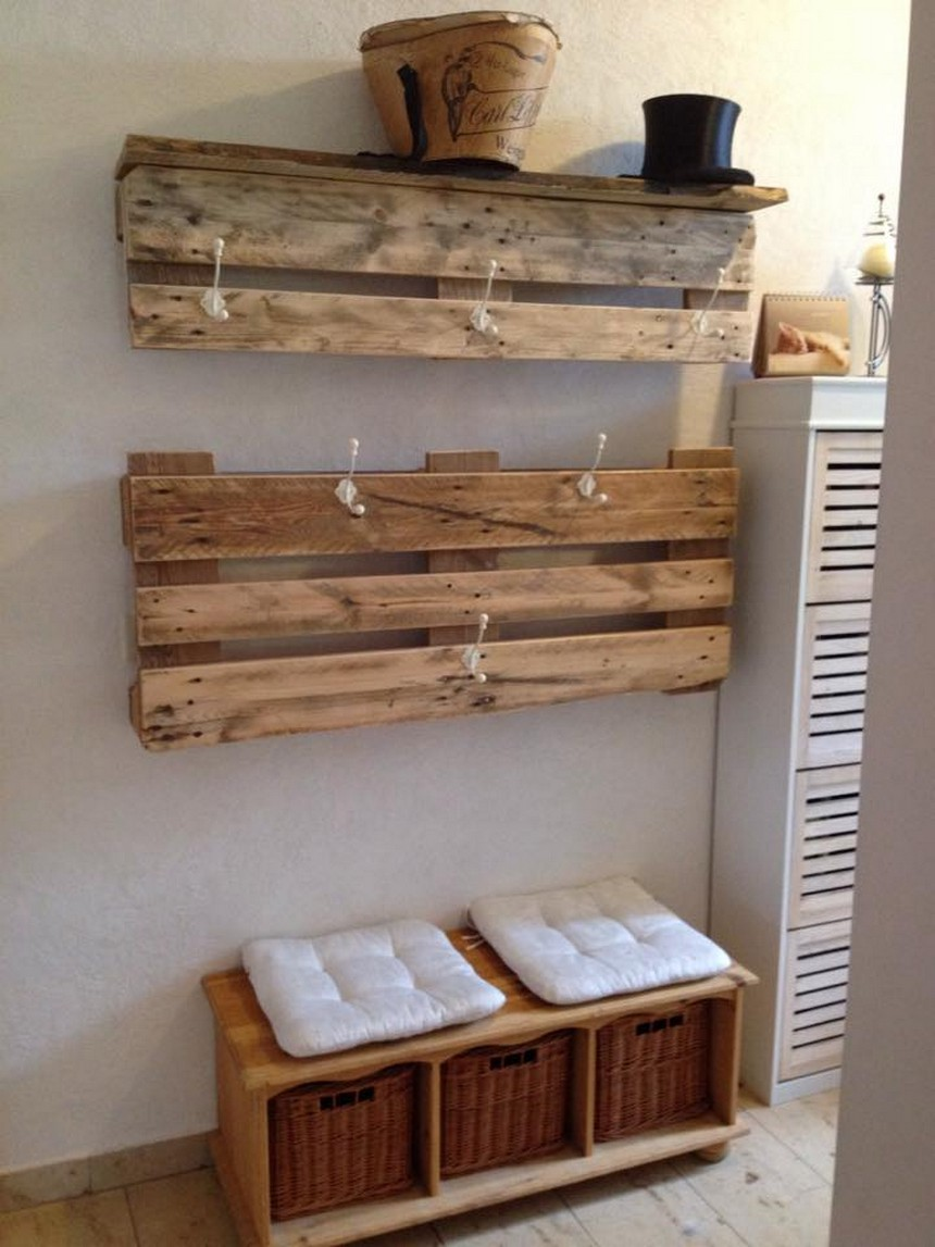 pallet things hanging idea