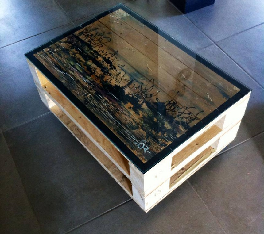 40 pallet ideas for your next diy project pallet ideas for Table basse palette