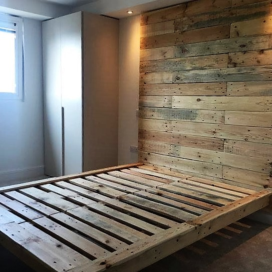 Best Pallet Bed Frame Design Ideas