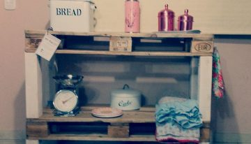 Creative Use of Pallet for Kitchen