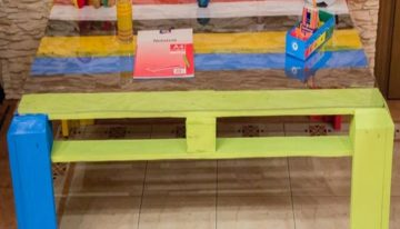 Pallet Tables for Kids