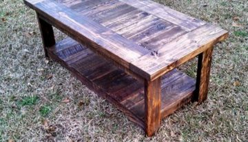 Pallets Made Coffee Table