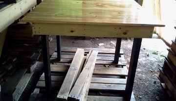 DIY Pallets Colorado Dinner Table