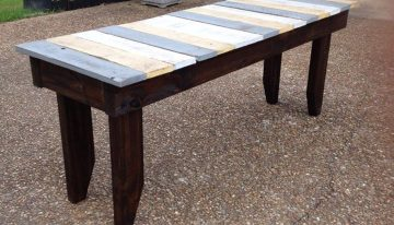 Nicely Crafted Pallets Table