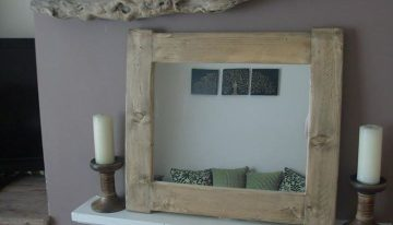 Pallet Mirrors In Vintage / Cottage Chunky Style
