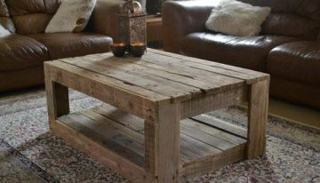 Pallets Coffee Table Ideas We Love