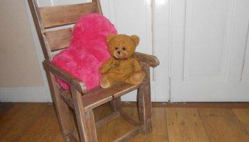 Pallets Made Children's Chair