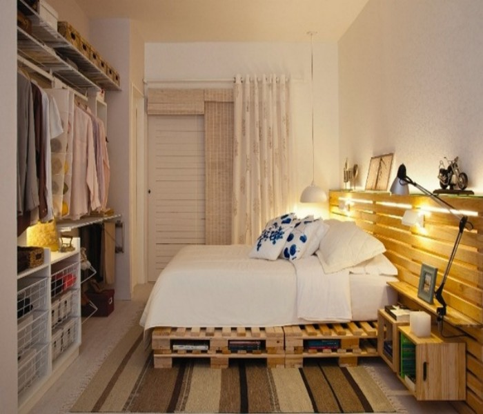 Pallets Powered Room Ideas | Pallet Ideas on Pallet Bedroom Design  id=23250