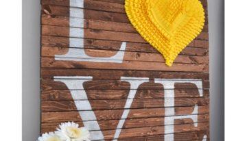 Pallets Wall Art Craft Ideas