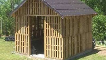 Pallets Wooden Shed Ideas