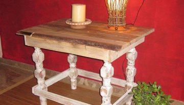 Pallets Wood Created Stool