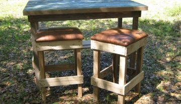 Pallets Bar or Kitchen Stools