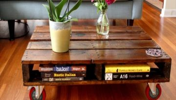 Awesome Wood Pallets Table Ideas