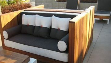 16 Elegant Pallets Patio Couches