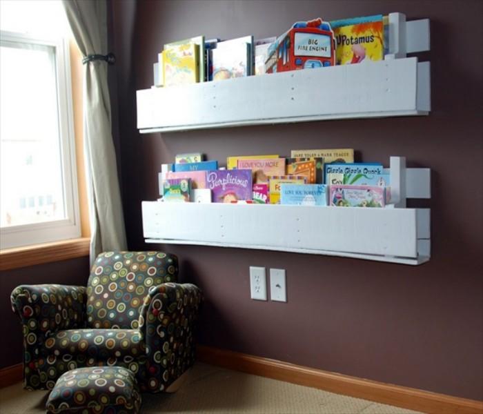Simple Wooden Bookshelf Designs