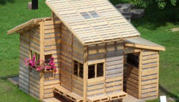 Pallets Made Home Projects for Refugees or Poor