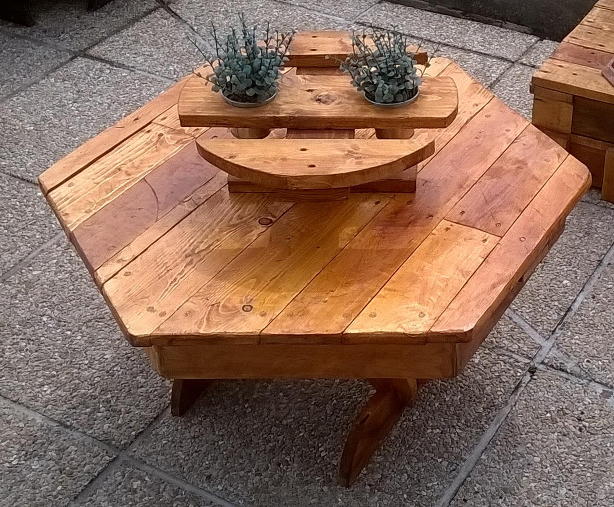 Pallets Made Planter Tables Pallet Ideas