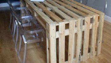 Pallets Made Conference / Dining Table