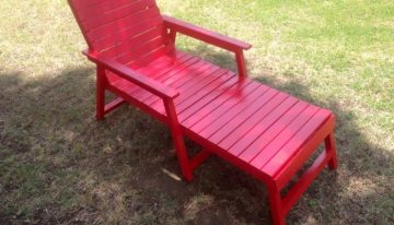 Pallets Made Custom Outdoor Chairs
