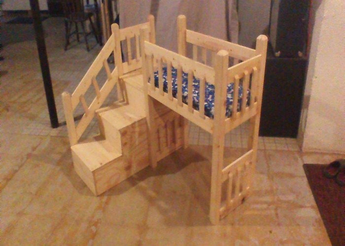 Pallets Wood Made Dog House / Bed | Pallet Ideas: Recycled ...