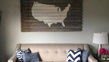 Signage From Reclaimed Wood Pallets