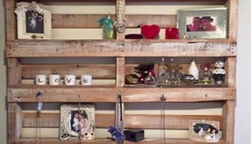 Wooden Pallet Display Pieces