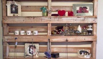 Wooden Pallet Display Pieces