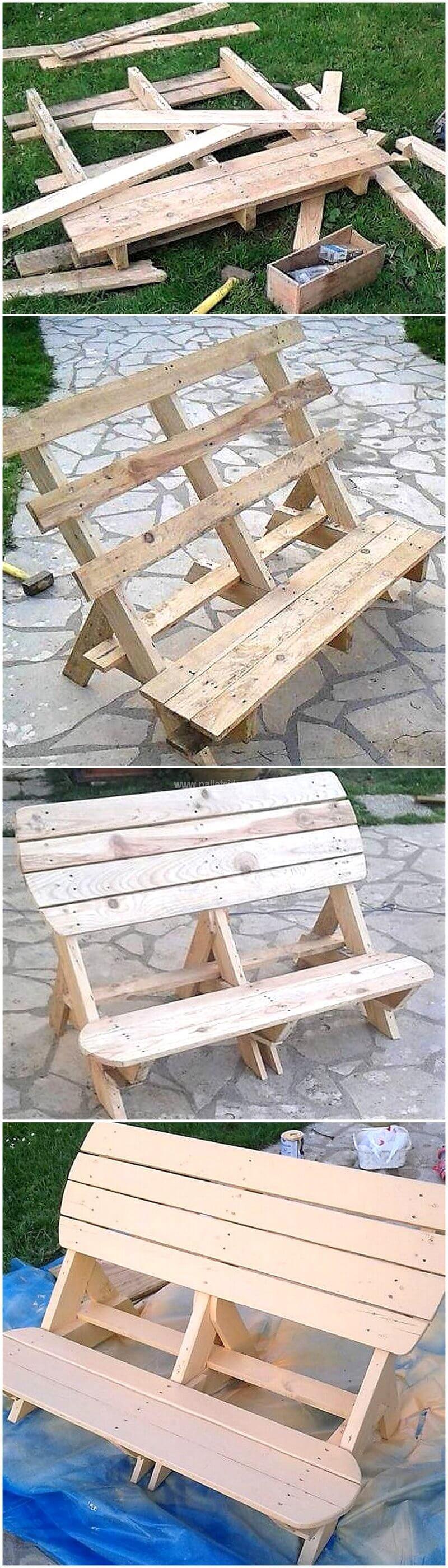 Surprising Diy Cute Pallets Made Garden Bench Pallet Ideas Pdpeps Interior Chair Design Pdpepsorg