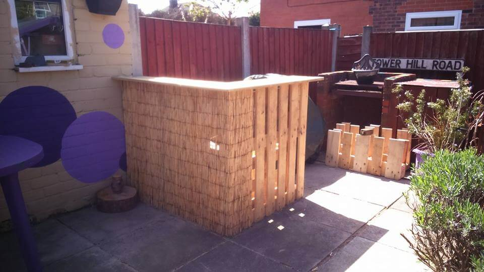 Pallet Garden Furniture Diy Projects