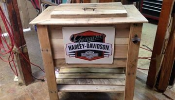 Pallets Wood Ice Chest