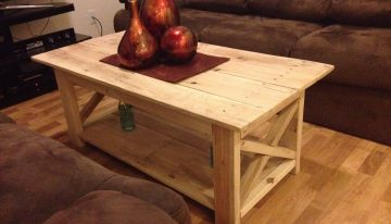 Pallet Made Coffee Table