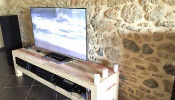 Meuble TV De La Palette