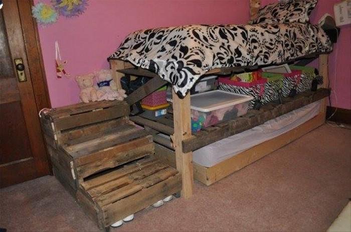 Cute Pallet Projects for Kids   Pallet Ideas on Pallets Bedroom Ideas  id=38472