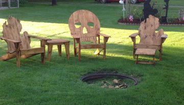 Pallets Garden Chairs