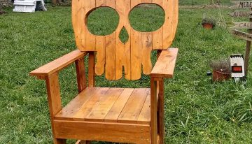 Palets Skull Chair